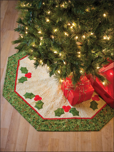 Holly Tree Skirt